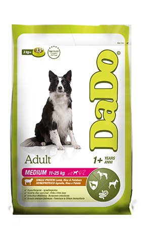 ADULT medium breed Lamb